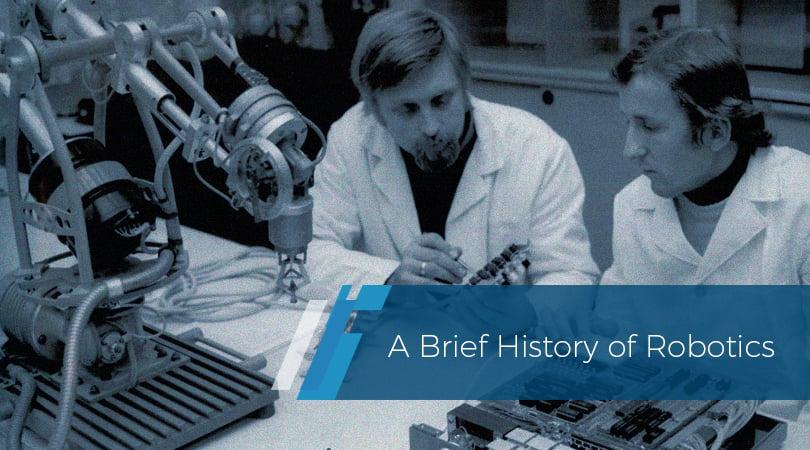 A brief history of robotics