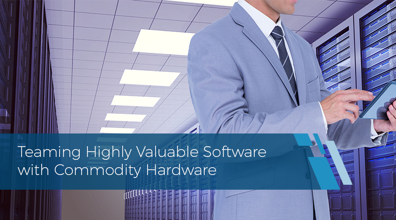 Teaming Highly Valuable Software with Commodity Hardware