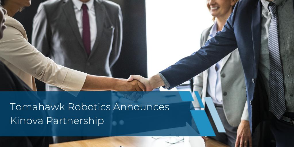 Tomahawk Robotics Announces Kinova Partnership